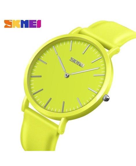 Ρολόι χειρός γυναικείο SKMEI 9179 YELLOW