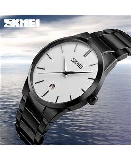Ρολόι χειρός ανδρικό SKMEI 9140 WHITE