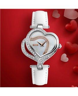 Ρολόι χειρός γυναικείο SKMEI 9161 WHITE