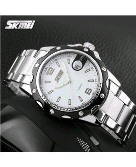 Ρολόι χειρός ανδρικό SKMEI 0992 WHITE
