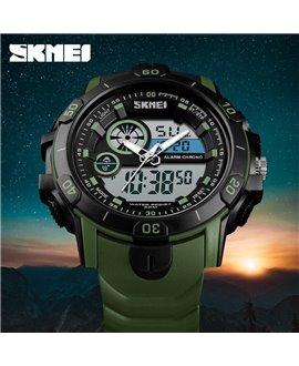 Αθλητικό ρολόι χειρός SKMEI 1428 ARMY GREEN