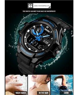 Ρολόι χειρός ανδρικό SKMEI 1357 BLUE