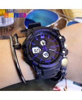 Αθλητικό ρολόι χειρός ανδρικό SKMEI 0990 BLUE