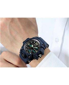 Αθλητικό ρολόι χειρός ανδρικό SKMEI 1155B DEMIN BLUE