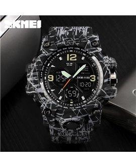 Αθλητικό ρολόι χειρός ανδρικό SKMEI 1155B GRAY BLACK