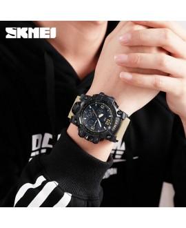 Αθλητικό ρολόι χειρός ανδρικό SKMEI 1155B KHAKI