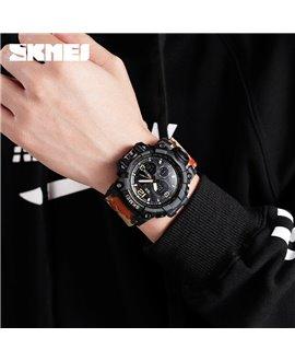 Αθλητικό ρολόι χειρός ανδρικό SKMEI 1155B RED CAMO