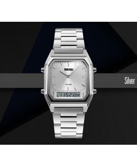 Ρολόι χειρός ανδρικό SKMEI 1220 SILVER