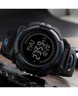 Ρολόι με πυξίδα χειρός ανδρικό SKMEI 1290 BLUE
