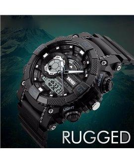 Αθλητικό ρολόι χειρός ανδρικό SKMEI 1228 BLACK