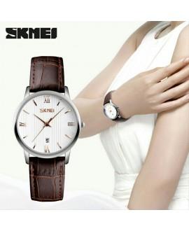 Ρολόι χειρός γυναικείο SKMEI 9130 GOLD/BROWN LADY