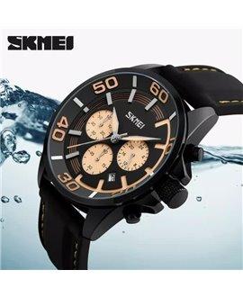 Ρολόι χειρός ανδρικό SKMEI 9154 YELLOW