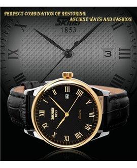Ρολόι χειρός ανδρικό SKMEI 9058 GOLD/BLACK