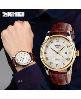 Ρολόι χειρός ανδρικό SKMEI 9058 GOLD/BROWN