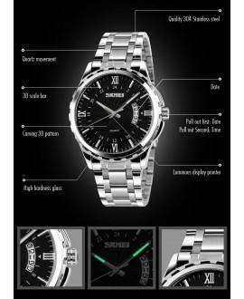 Ρολόι χειρός ανδρικό SKMEI 9069 SILVER/BLACK