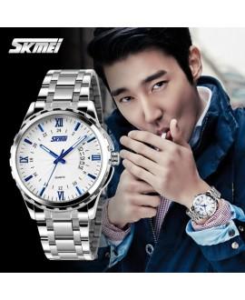Ρολόι χειρός ανδρικό SKMEI 9069 SILVER/BLUE