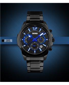 Ρολόι χειρός ανδρικό SKMEI 9108 BLACK