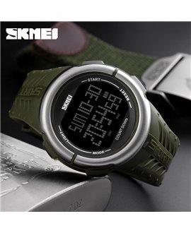 Αθλητικό ρολόι χειρός ανδρικό SKMEI 1286 ARMY GREEN
