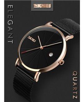 Ρολόι χειρός ανδρικό SKMEI 9183 BLACK/ROSE GOLD