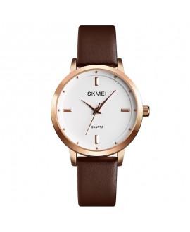 Ρολόι χειρός γυναικείο SKMEI 1457 BROWN