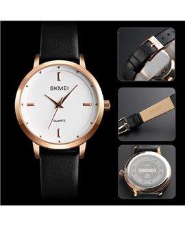 Ρολόι χειρός γυναικείο SKMEI 1457 BLACK/WHITE
