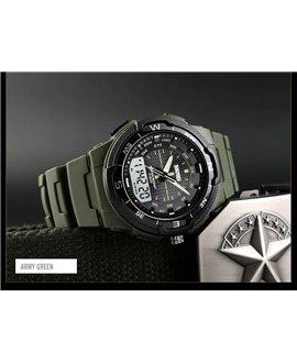 Αθλητικό ρολόι χειρός ανδρικό SKMEI 1454 ARMY GREEN