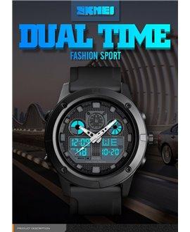 Αθλητικό ρολόι χειρός ανδρικό SKMEI 1514 BLACK
