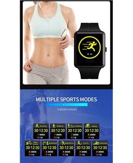 Smartwatch-Ρολόι χειρός SKMEI 1525 BLACK