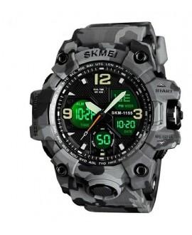 Αθλητικό ρολόι χειρός ανδρικό SKMEI 1155B GRAY CAMOUFLAGE