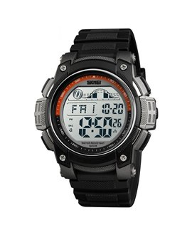 Αθλητικό ρολόι χειρός SKMEI 1372 TITANIUM/ORANGE