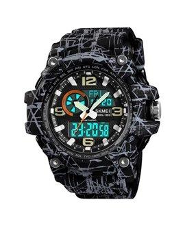 Αθλητικό ρολόι χειρός ανδρικό SKMEI 1283 GRAY BLACK