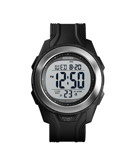 Αθλητικό ρολόι χειρός ανδρικό SKMEI 1503 BLACK/SILVER