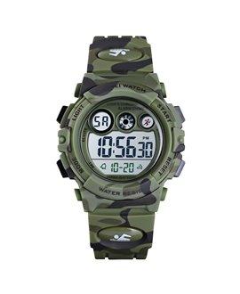 Ρολόι χειρός παιδικό SKMEI 1547 ARMY GREEN CAMOUFLAGE