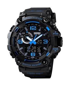 Αθλητικό ρολόι χειρός ανδρικό SKMEI 1520 BLUE