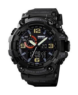 Αθλητικό ρολόι χειρός ανδρικό SKMEI 1520 BLACK