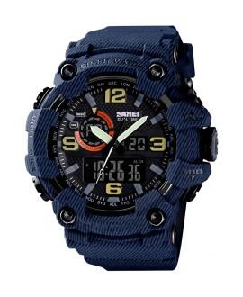 Αθλητικό ρολόι χειρός ανδρικό SKMEI 1520 DENIM BLUE