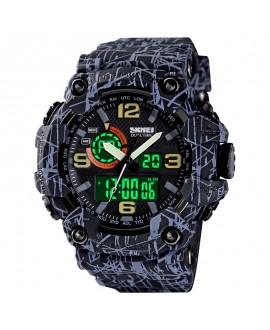 Αθλητικό ρολόι χειρός ανδρικό SKMEI 1520 GRAY BLACK