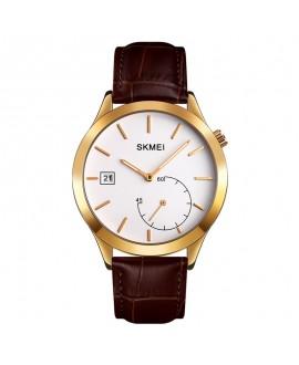 Ρολόι χειρός ανδρικό SKMEI 1581 ROSE GOLD/BROWN