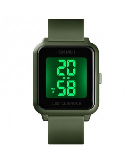 Αθλητικό ρολόι χειρός unisex SKMEI 1566 ARMY GREEN