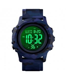 Ρολόι χειρός ανδρικό SKMEI 1506 BLUE CAMOUFLAGE
