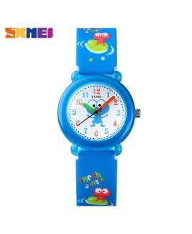 Ρολόι χειρός παιδικό βατραχάκι SKMEI 1621 BLUE FROG