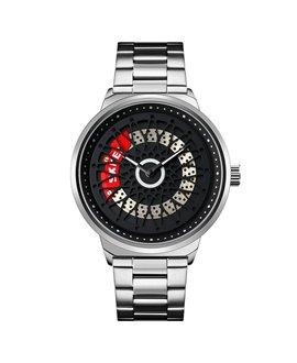 Ρολόι χειρός ανδρικό SKMEI 9217 SILVER/BLACK