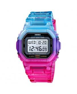Ρολόι χειρός γυναικείο SKMEI 1622 BLUE/RED