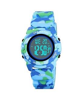 Ρολόι χειρός παιδικό SKMEI 1574 LIGHT BLUE CAMOUFLAGE