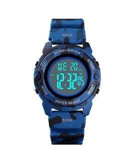 Ρολόι χειρός παιδικό SKMEI 1574 DARK BLUE CAMOUFLAGE