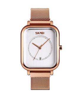 Ρολόι χειρός γυναικείο SKMEI 9207 ROSE GOLD/WHITE