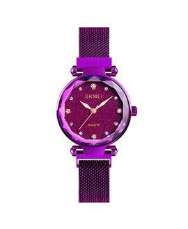 Ρολόι χειρός γυναικείο SKMEI Q022 PURPLE