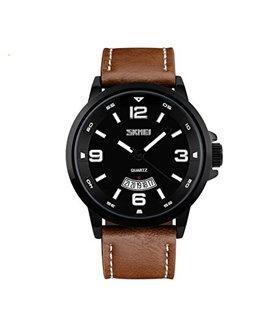 Ρολόι χειρός ανδρικό SKMEI 9115 BROWN/BLACK